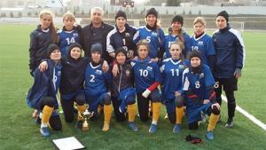 Представительницы СФУ стали победителями соревнований по футболу среди вузов края